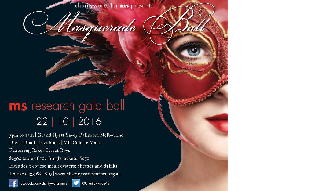Save the date for our 2016 Ball!
